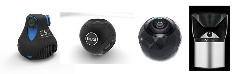 Yeni nesil avuç içine sığabilen üç boyutlu yüksek çözünürlüklü kameralar